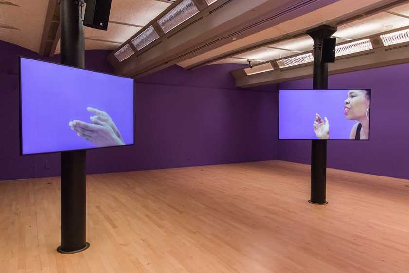 Martine Syms, Borrowed Lady, 2016. Installation View At Tate Liverpool, Liverpool Biennial 2021