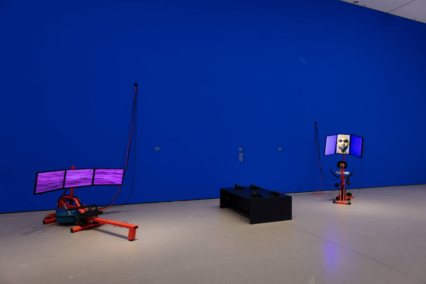 Installation view, New Order: Art and Technology in the Twenty-First Century at The Museum of Modern Art, New York, March 17 – June 15, 2019