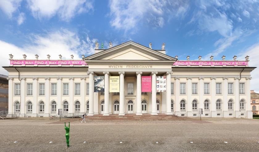Installation view, Aphrodite's Beasts, Fridericianum, Kassel, 2021. © Martine Syms, documenta, and Museum Fridericianum gGmbH
