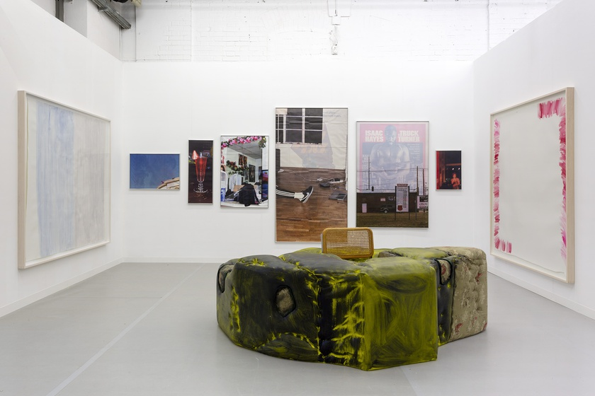Installation view of Liste 2019, Booth 2/2/2