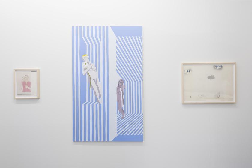 Liste Art Fair, Basel, booth view, June 11-17, 2018. Photo: Moritz Krauth