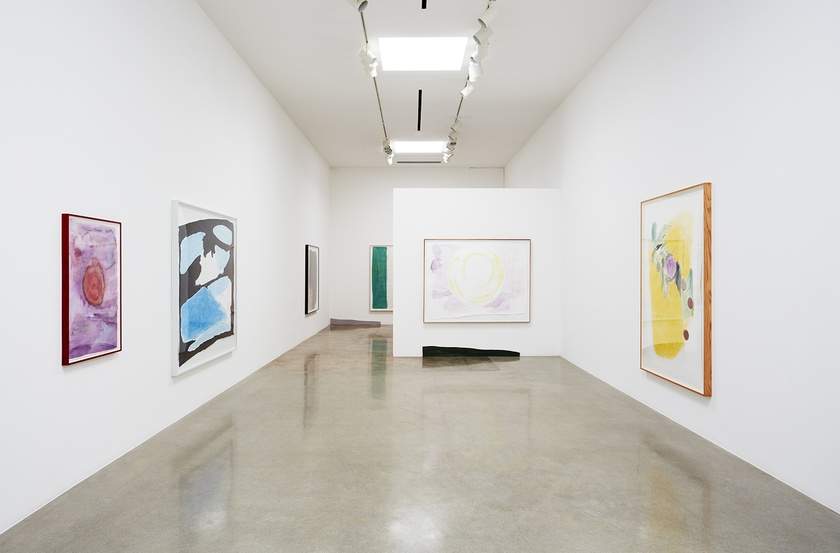 Installation view at Kayne Griffin Corcoran