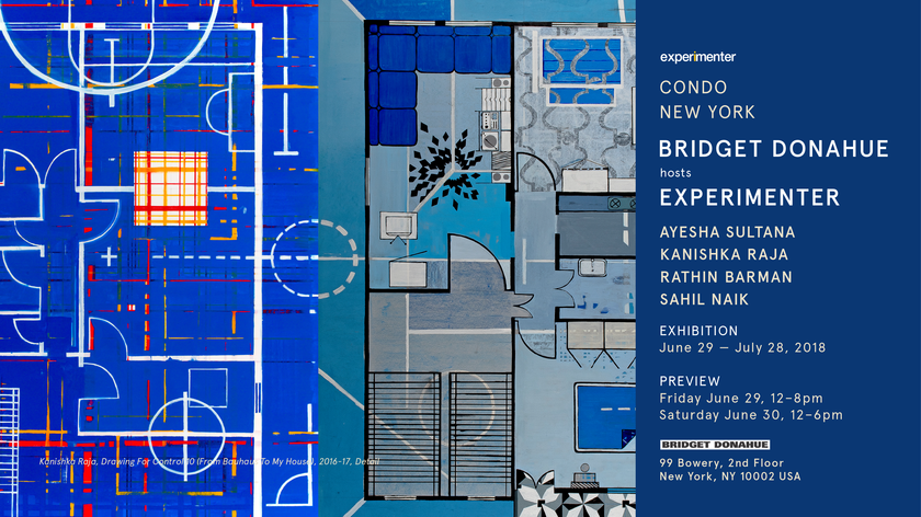 CONDO New York: Experimenter at Bridget Donahue, Preview: Friday, June 29, 12-8 and Saturday, June 30, 12-6