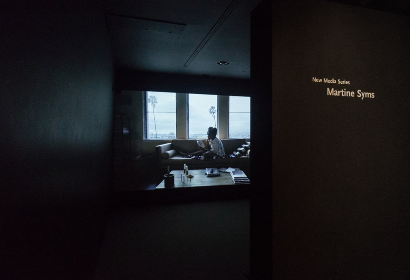Installation View, New Media Series—Martine Syms, Saint Louis Art Museum, August 7–November 15, 2020